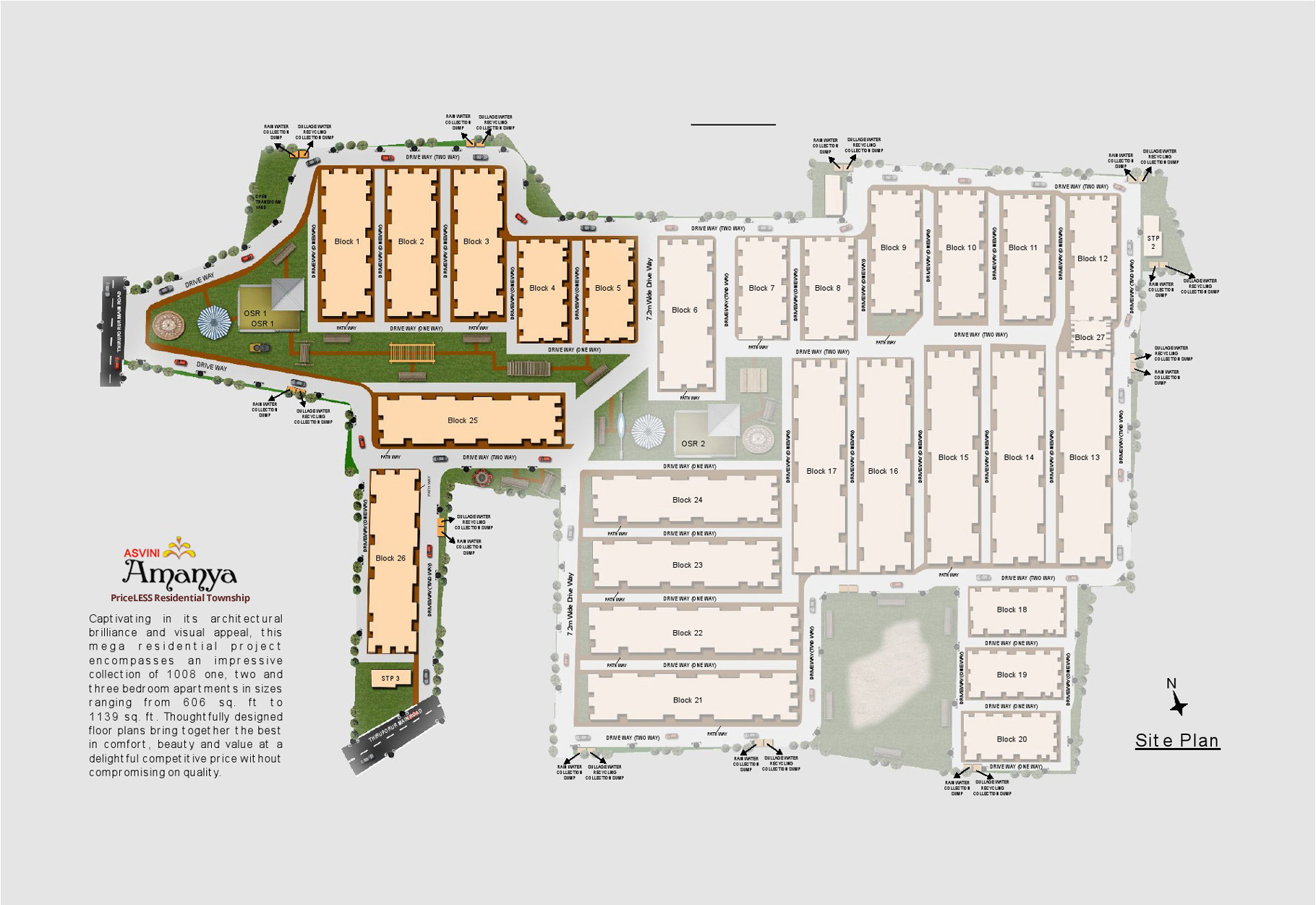 Apartments Site Plan Asvini Amanya